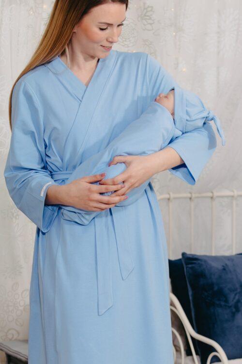 Sky Blue baba-mama szett